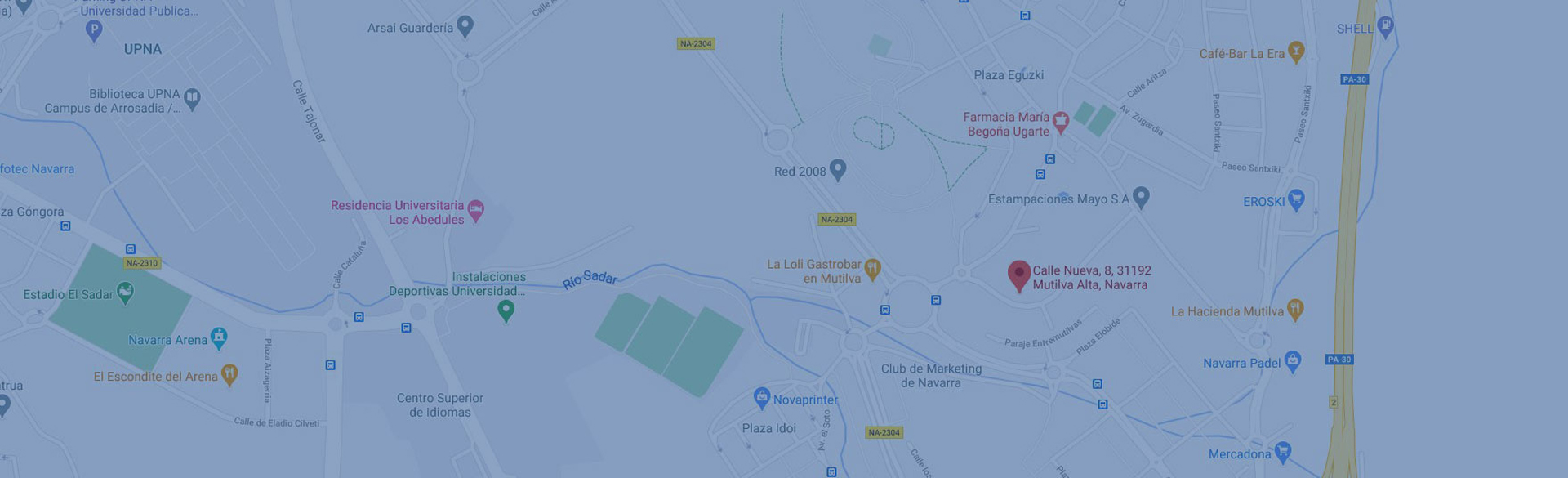 ISFSC Renting, Haz clic para abrir mapa en MAPS